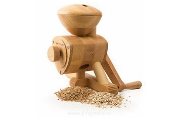 Moara de cereale manuală