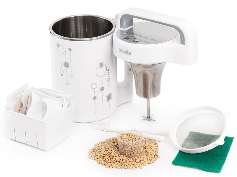 Aparat lapte de soia 0.9-1.1 Litri (Model Argintiu)