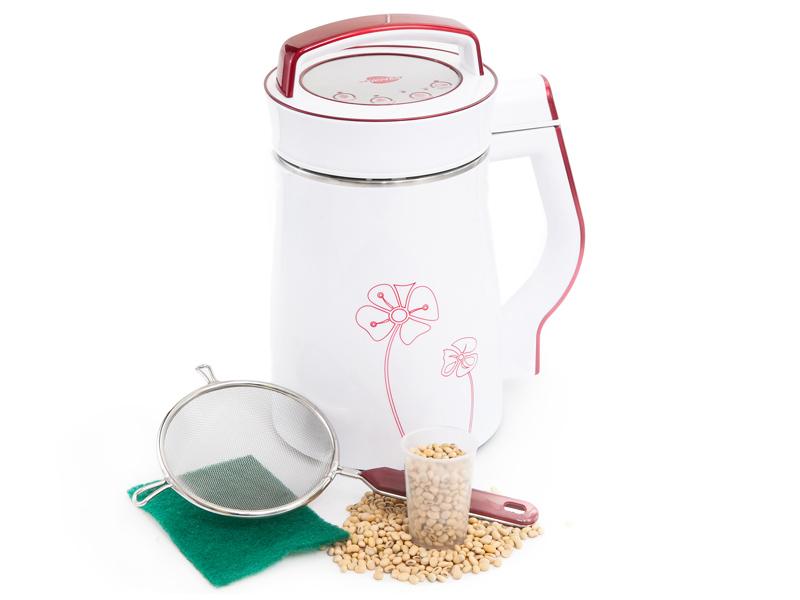 Aparat lapte de soia 1.1-1.3 Litri (Alb+Rosu)